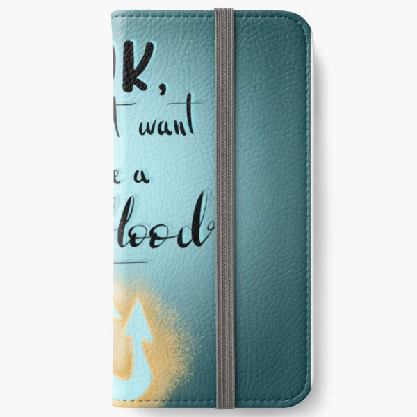 Percy Jackson quote iPhone Wallet