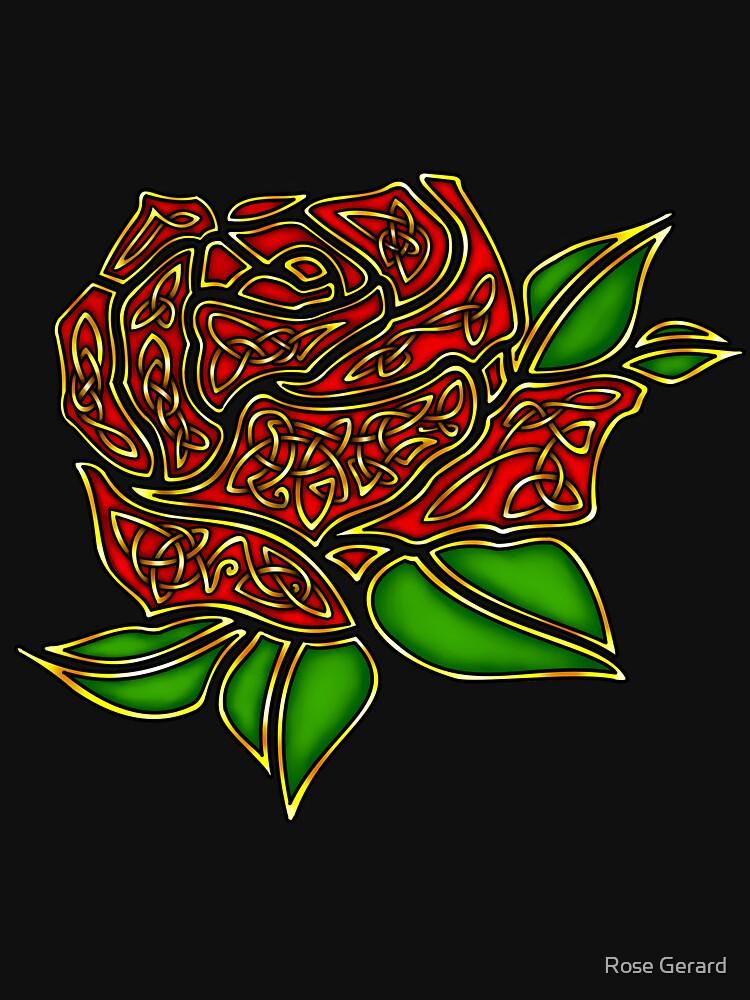 Celtic Rose by arkadyrose