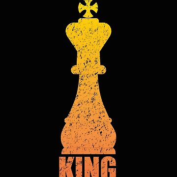 Chess Design - King by kudostees