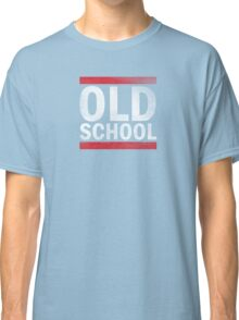 OLD SCHOOL White Classic T-Shirt