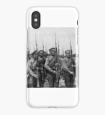 World War I Russian infantry. 1917 iPhone Case