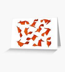 Idée foxe Greeting Card