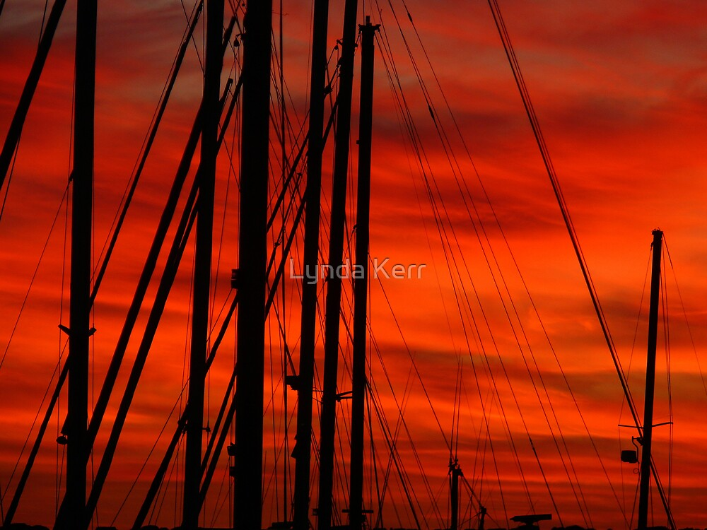 Merah Masts by Lynda Kerr
