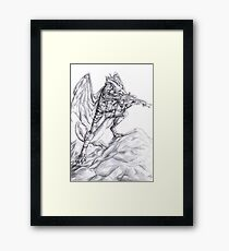 Sniper Dragon Framed Print