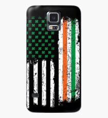 St Patrick Day Irish American USA Flag Heritage Pride Case/Skin for Samsung Galaxy