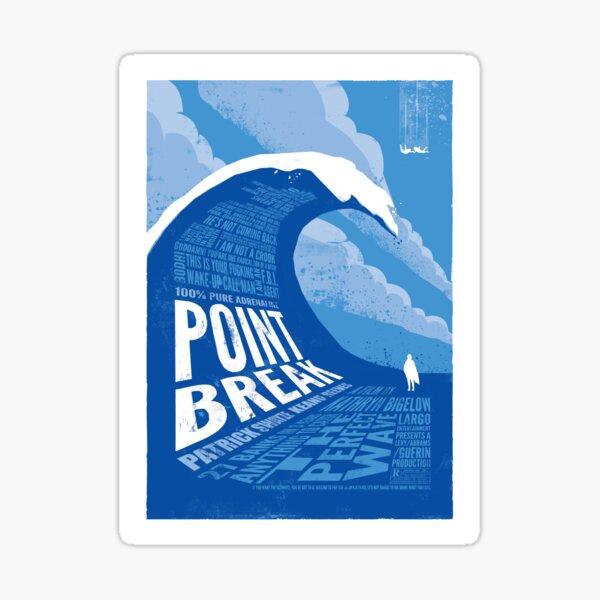 Point Break - reworked Sticker
