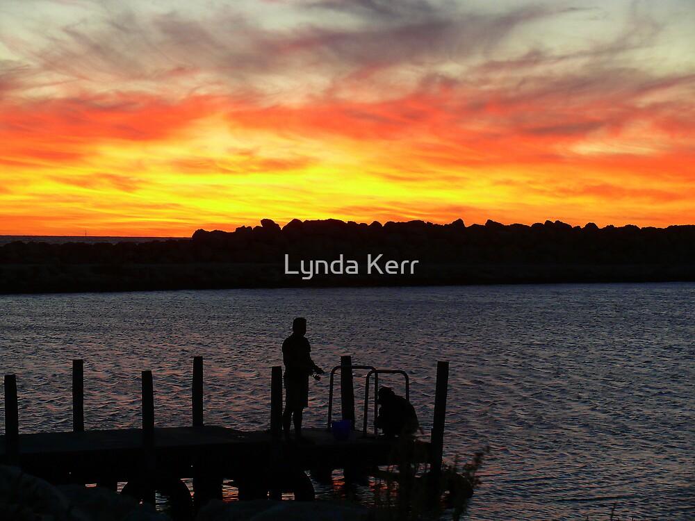 Two Rocks Jetty by Lynda Kerr