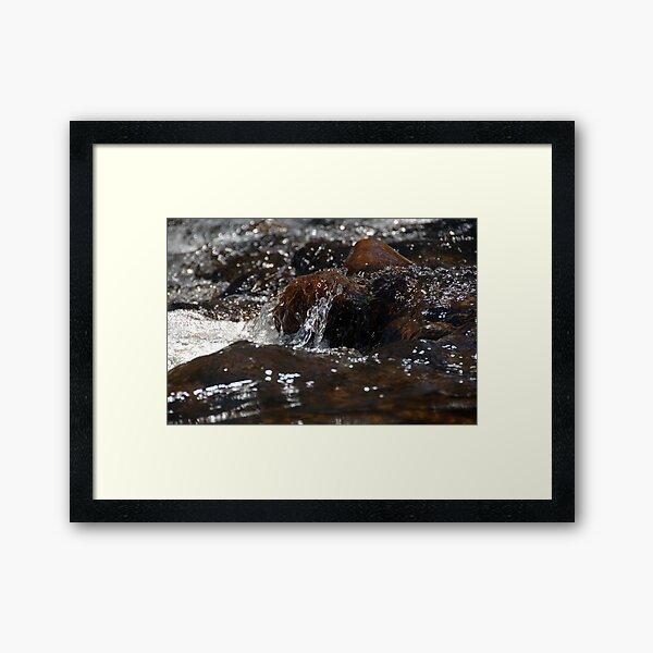 Water study 6 Framed Art Print