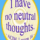 ACIM Lesson 16 by ACIM-LOVE