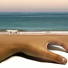 I Know You Like The Back Of My Sand by Monica Carvalho (mofart_photomontages)