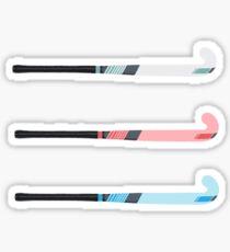 Pegatina palo de hockey de campo (ers)