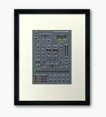 Self Control Mixer Framed Print