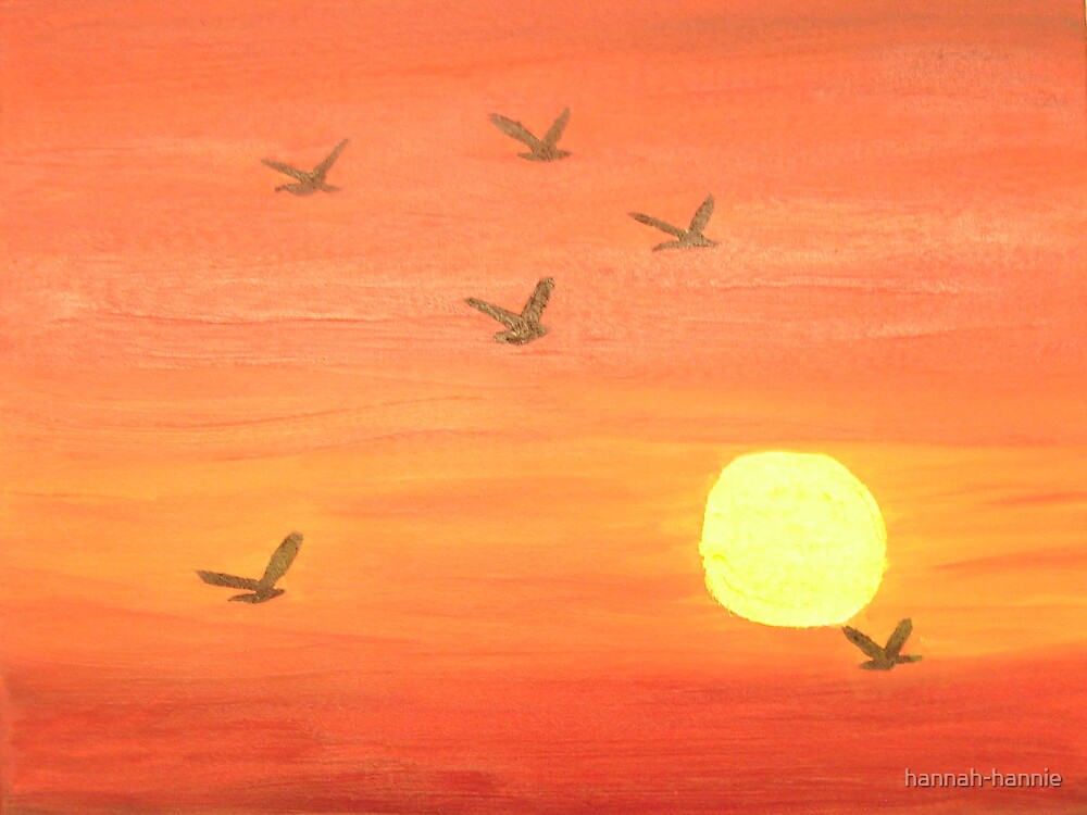 flying away by hannah-hannie