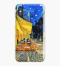 Van Gogh - Cafe Terrace, Place du Forum, Arles iPhone Case/Skin