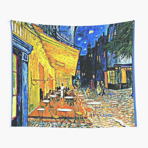 Van Gogh - Cafe Terrace, Place du Forum, Arles Tela decorativa