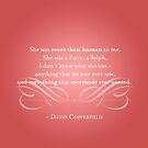 David Copperfield Quote by The Eighty-Sixth Floor