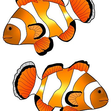 Clownfish by Miraart