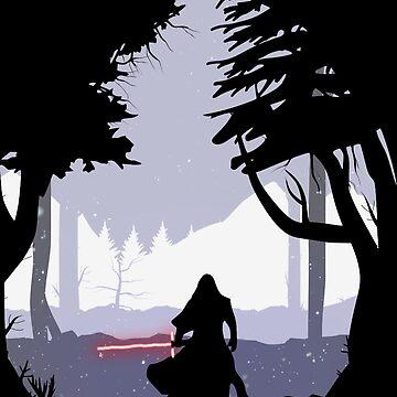 Kylo Ren - Star Wars by p-a-z