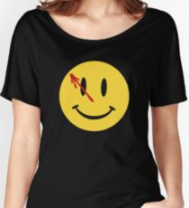 Watchmen Comedian Badge Women's Relaxed Fit T-Shirt