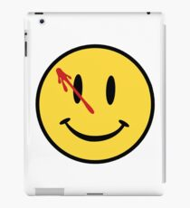 Watchmen Comedian Badge iPad Case/Skin