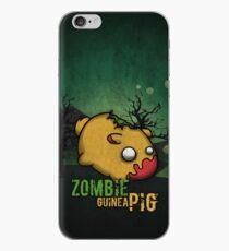 Zombie guinea pig iPhone Case