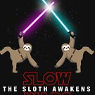 Slow Wars - The Sloth Awakens Funny Parody Meme by DesIndie