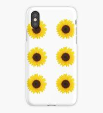 Six Sunflowers iPhone Case/Skin