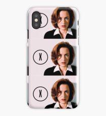 DANA SCULLY   THE (X) FILES iPhone Case/Skin