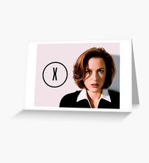 DANA SCULLY | THE (X) FILES Greeting Card