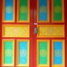 The doors of Samye Ling by trish725