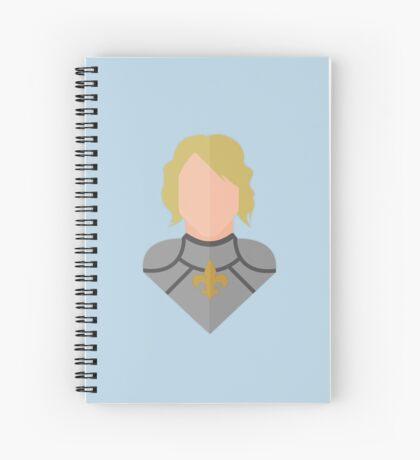 St. Joan of Arc Spiral Notebook