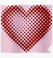 Heart For Valentine's Day Poster