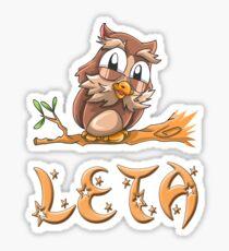 Leta Owl Sticker