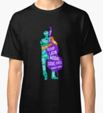 Bass Player With Jazz Genres Classic T-Shirt