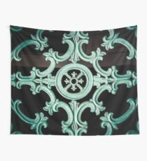 Teal Details, New Orleans Wall Tapestry