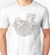 Drawing Zen Unisex T-Shirt