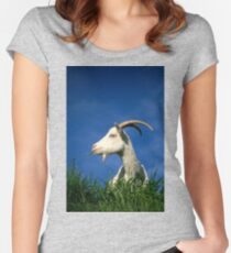 Goat Women's Fitted Scoop T-Shirt