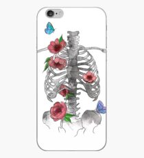 Floral Bones iPhone Case