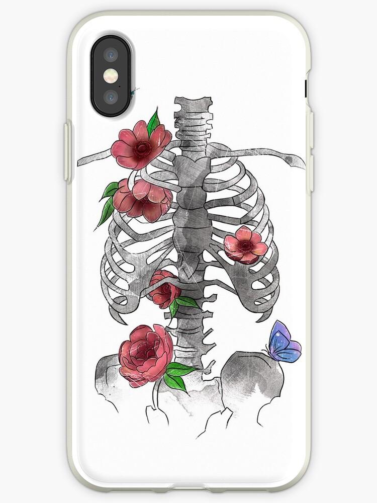 Floral Bones by Tatiana  Gomes