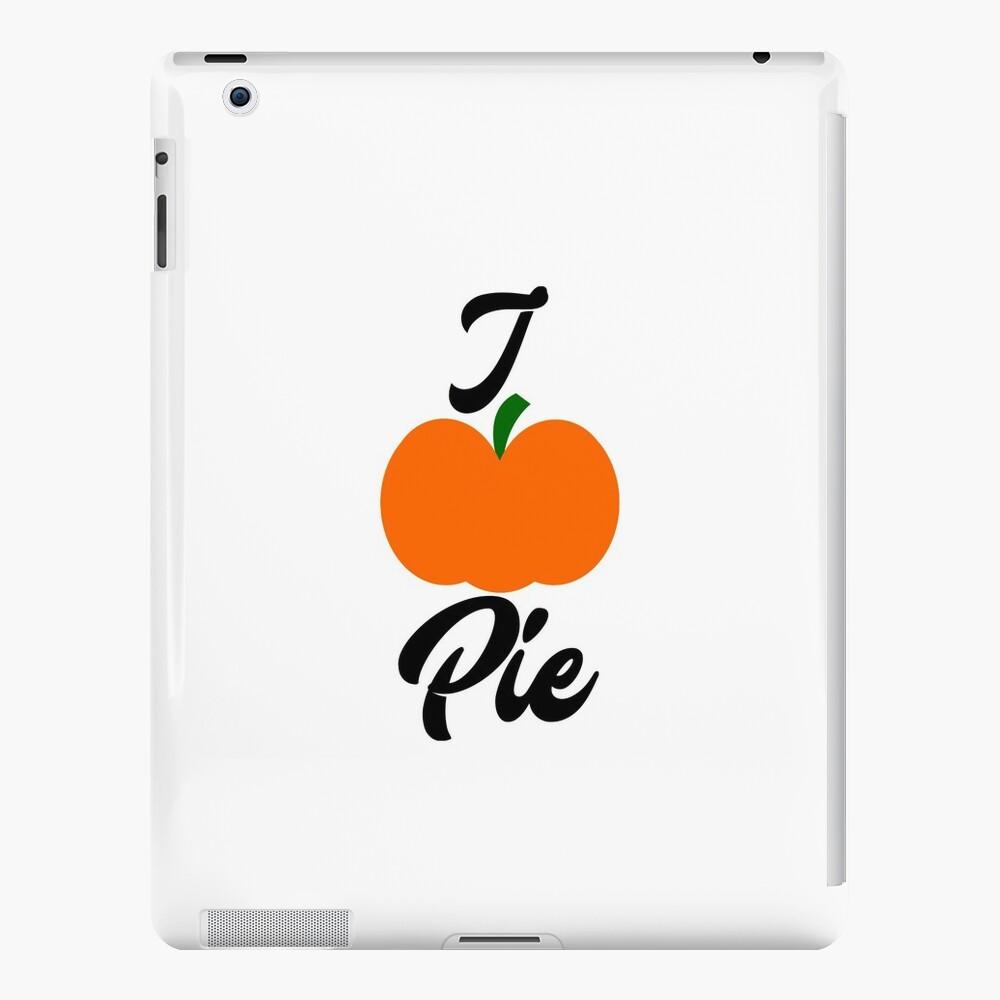 Ich Kürbiskuchen-Liebe für Torte iPad-Hüllen & Klebefolien