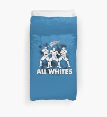 All Whites Duvet Cover