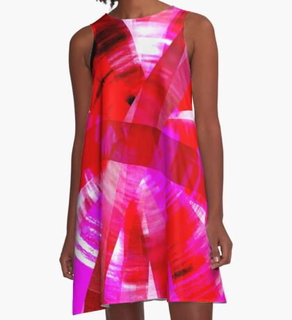 Pink Vertigo A-Line Dress
