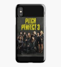Pitch Perfect 3 Movie Poster iPhone Case/Skin