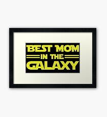 Best Mom In The Galaxy Framed Print