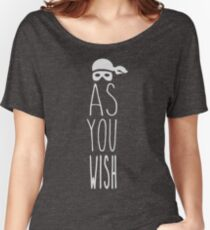 As You Wish - With Cap Relaxed Fit T-Shirt