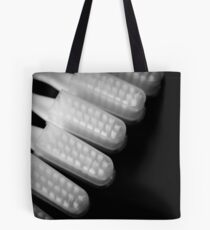 Toothbrushes heads Tote Bag