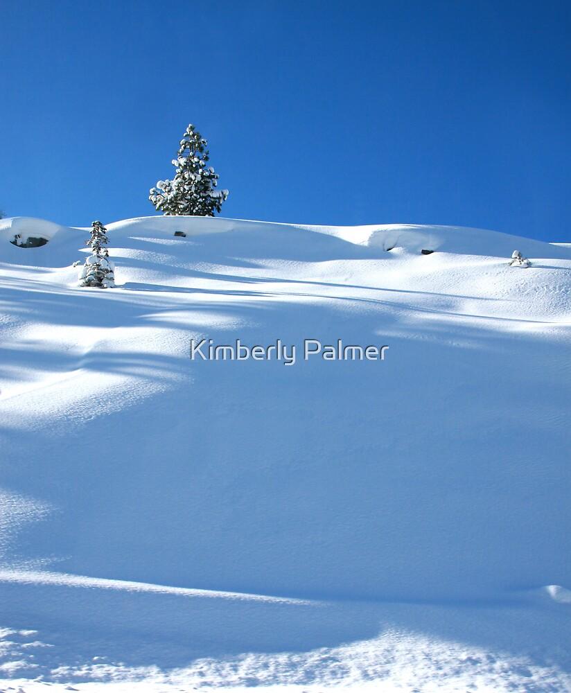 Snowy Tree by Kimberly Palmer