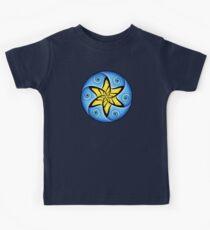 Mandala Spiral Star Kids Tee