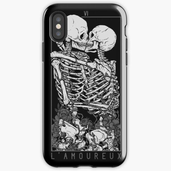 Les amoureux Coque antichoc iPhone