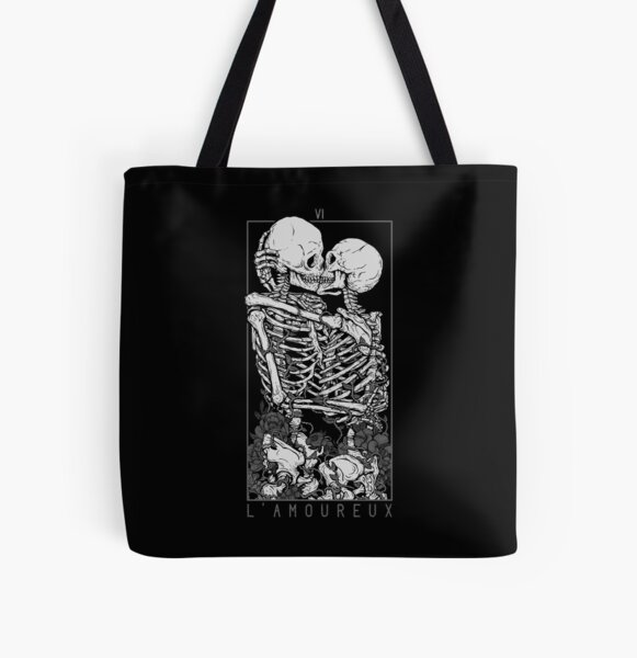 The Lovers All Over Print Tote Bag